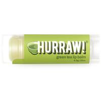 Hurraw! Balm, Lip Balm, Green Tea, .15 oz (4.3 g)