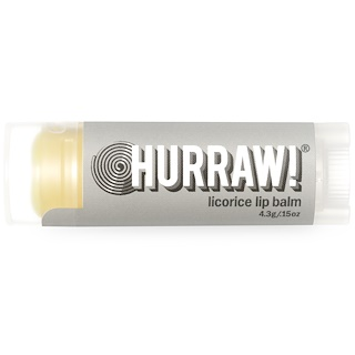 Hurraw! Balm, Licorice Lip Balm, .15 oz (4.3 g)