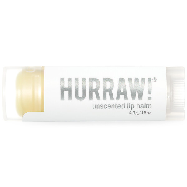 Lip Balm, Unscented, .15 oz (4.3 g)