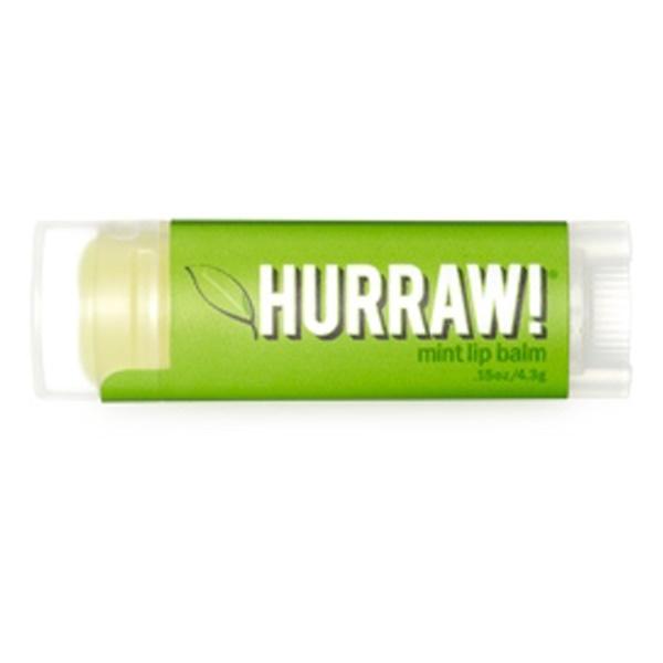 Hurraw! Balm, Lip Balm, Mint, .15 oz (4.3 g) (Discontinued Item)
