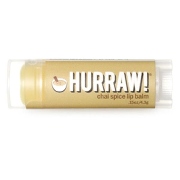 Hurraw! Balm, Lip Balm, Chai Spice, .15 oz (4.3 g) (Discontinued Item)