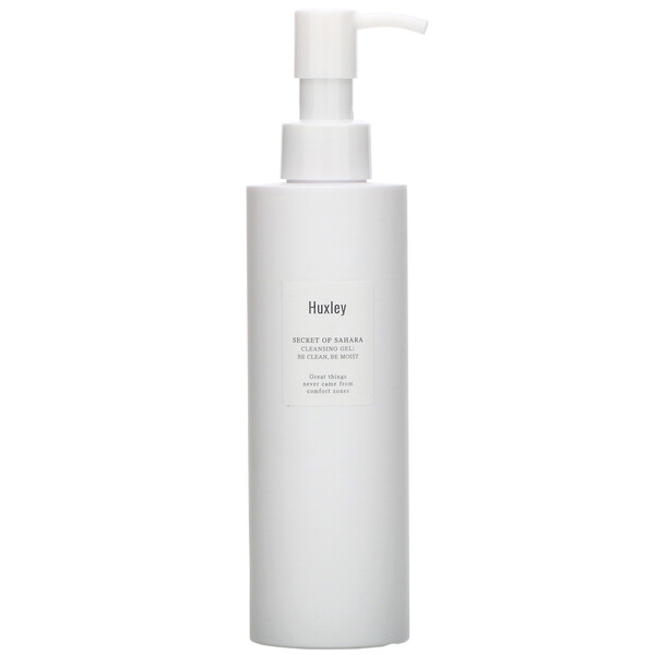 Huxley, Secret of Sahara, Cleansing Gel, 200 ml (Discontinued Item)