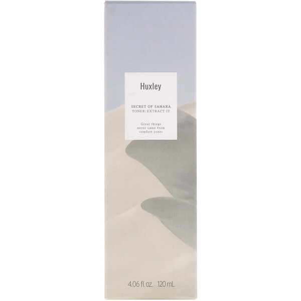 Huxley, Secret of Sahara, Toner: Extract IT, 4.06 fl oz (120 ml)