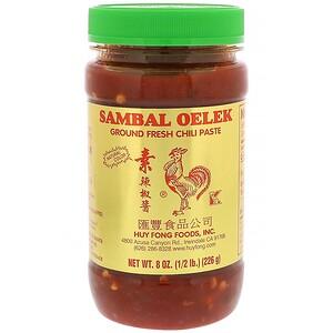 Хю Фонг Фудс, Sambal Oelek, Ground Fresh Chili Paste, 8 oz (226 g) отзывы