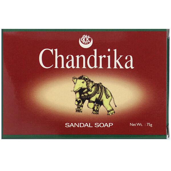 Chandrika Soap, Chandrika Sandal Soap, 75 g