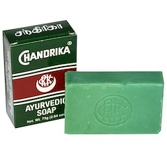 Herbal - Vedic, Chandrika, Ayurvedic Soap, 1 Bar, 2.64 oz (75 g)