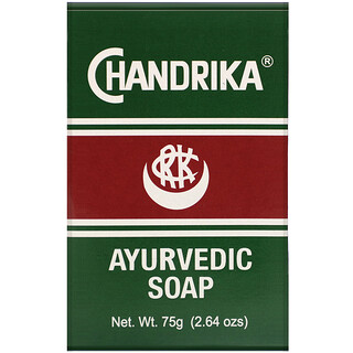 Chandrika Soap, Chandrika, Ayurvedic Soap, 2.64 oz (75 g)