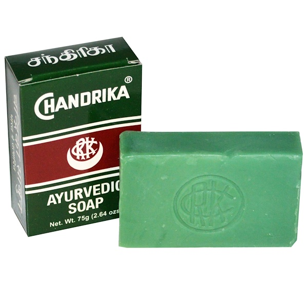 Chandrika, Ayurvedic Soap, 1 Bar, 2.64 oz (75 g)
