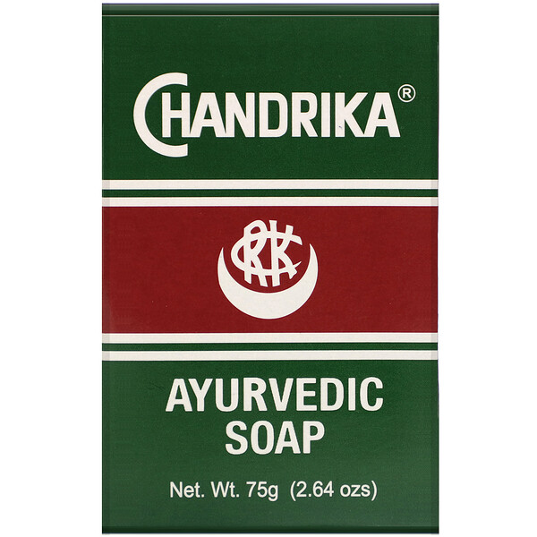 Chandrika, Ayurvedic Soap, 2.64 oz (75 g)