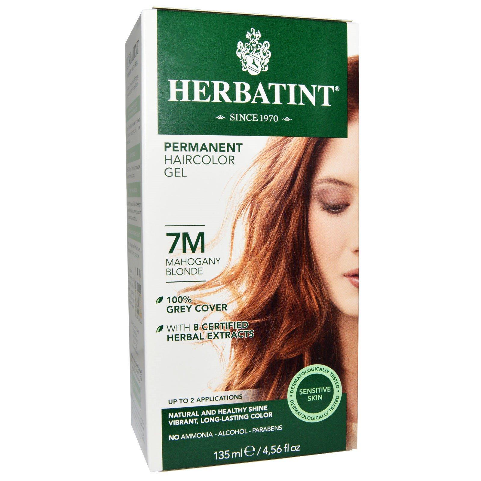 Herbatint Permanent Haircolor Gel 7m Mahogany Blonde 456 Fl Oz