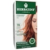 Herbatint, Permanent Haircolor Gel, 7R, 구리빛 블론드, 4.56 액량 온스 (135 ml)