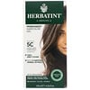 Herbatint, Permanent Herbal Haircolor Gel, 5C, Light Ash Chestnut, 4,56 fl oz (135 ml)