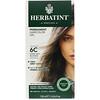 Herbatint, 퍼머넌트 헤어컬러 젤, 6C, 다크 애쉬 블론드, 135ml(4.56fl oz)