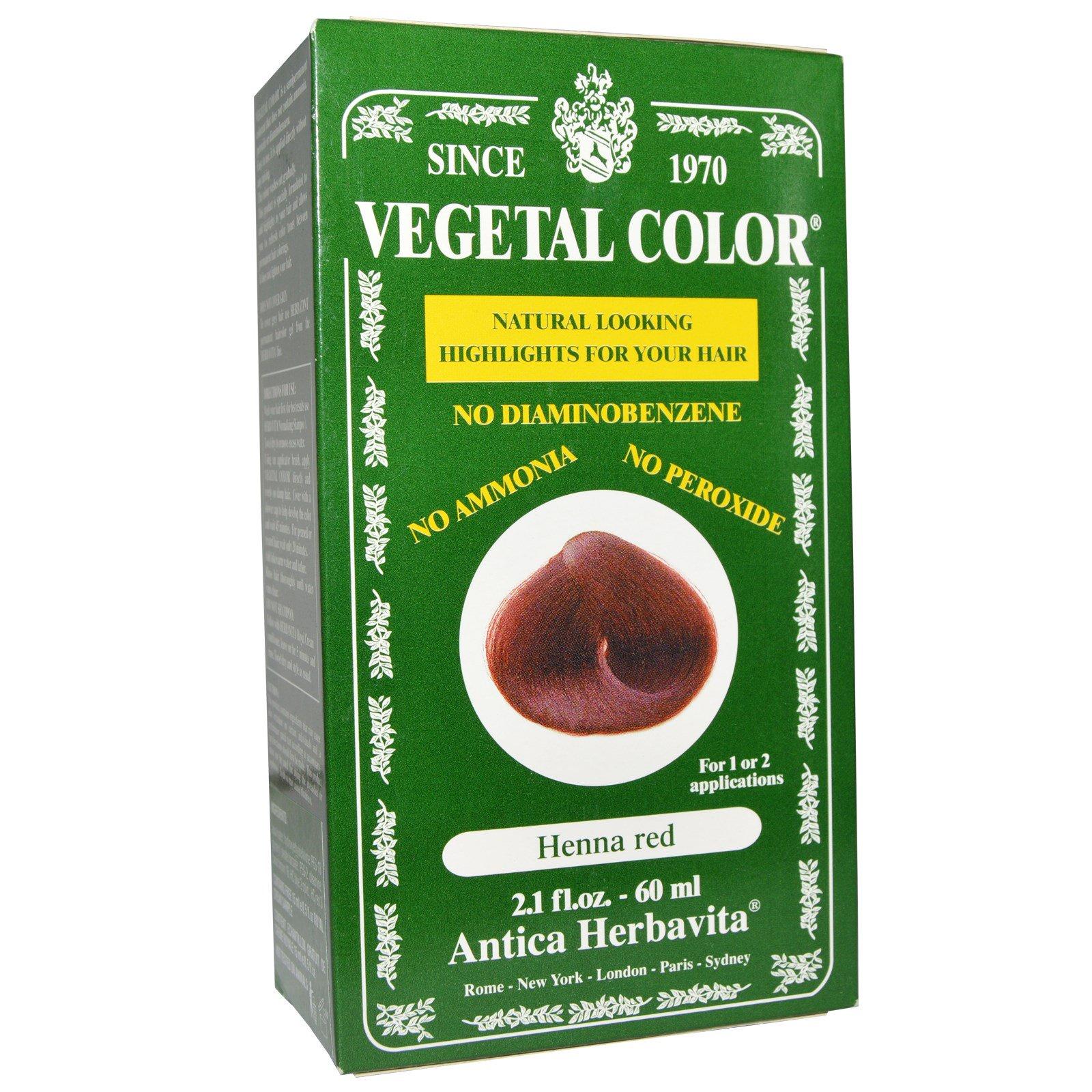 Herbatint Vegetal Color Henna Red 21 Fl Oz 60 Ml Iherb