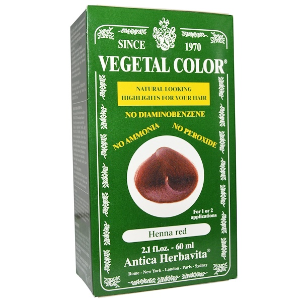 Herbatint, Vegetal Color, Henna Red, 2.1 fl oz (60 ml) (Discontinued Item)