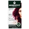 Herbatint, Permanent Herbal Haircolor Gel, FF 3, Plum, 4.56 fl oz (135 ml)