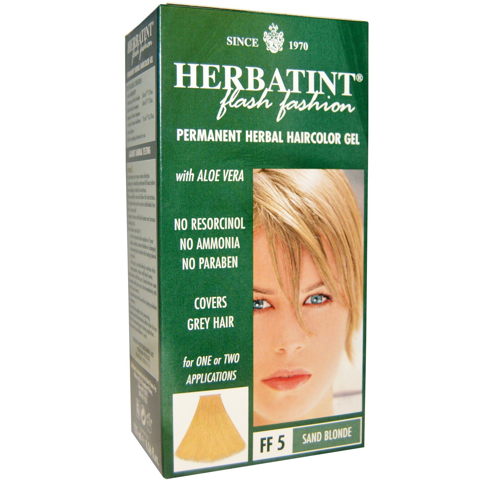 Herbatint Permanent Herbal Haircolor Gel Ff 5 Sand Blonde 456