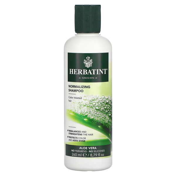 Normalizing Shampoo, Aloe Vera, 8.79 fl oz (260 ml)