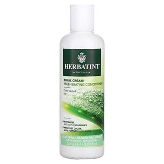 Herbatint, Royal Cream Regenerating Conditioner, Aloe Vera, Jojoba Oil, Wheat, 8.79 fl oz (260 ml)