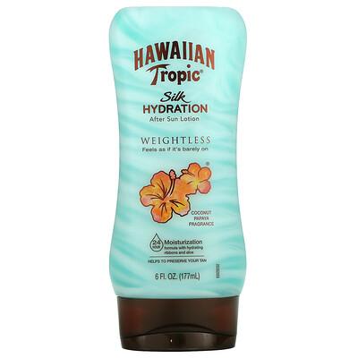 Hawaiian Tropic Silk Hydration Weightless After Sun Lotion, 6 fl oz (177 ml)