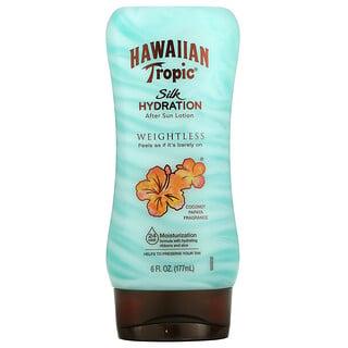 Hawaiian Tropic, Silk Hydration Weightless After Sun Lotion, Coconut Papaya, 6 fl oz (177 ml)
