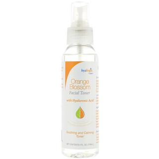 Hyalogic LLC, Orange Blossom Facial Toner, 4 fl oz (118 ml)