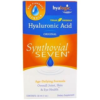 Hyalogic LLC, Ácido hialurónico, Synthovial Seven, 30 ml (1 oz)