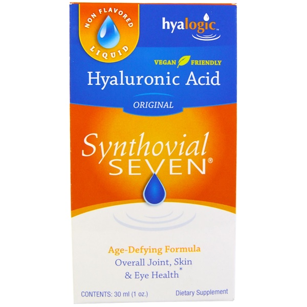Hyalogic , Acide hyaluronique Synthovial Seven, 1 oz (30 ml)