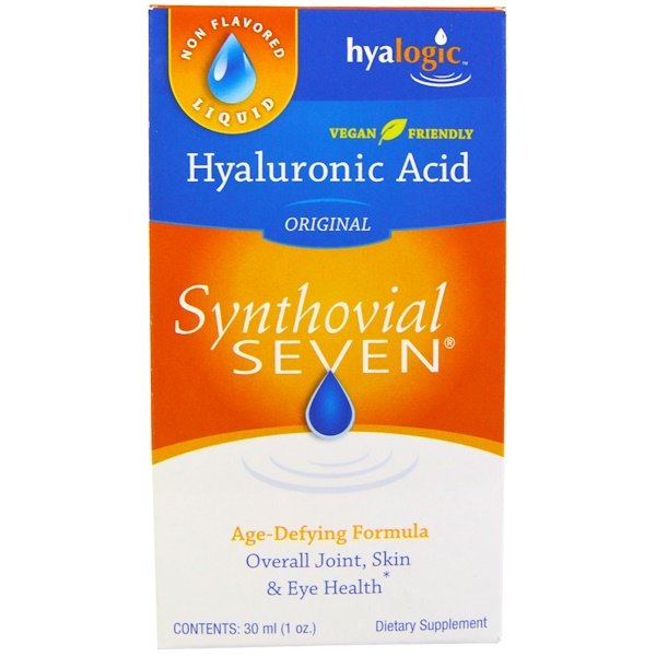 Hyalogic LLC, Hyaluronic Acid, Synthovial Seven, 1 oz (30 ml)