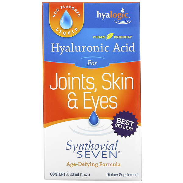 Hyaluronic Acid, Synthovial Seven, 1 oz (30 ml)