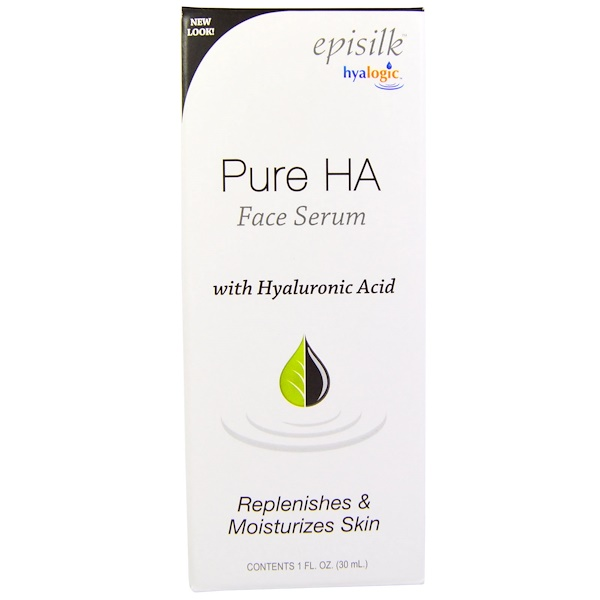 Hyalogic , Episilk, Pure HA Face Serum, 1 fl oz (30 ml)