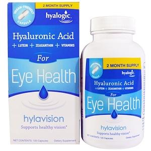Хиалоджик ЛЛС, Hylavision, Hyaluronic Acid, 120 Capsules отзывы покупателей