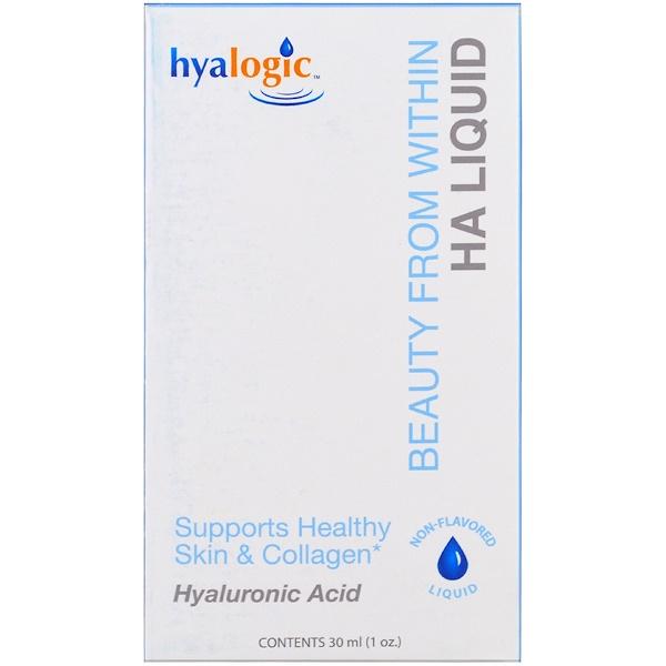 Hyalogic LLC, 由內而外的美,液態 HA,1 盎司(30 毫升)