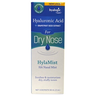 Hyalogic LLC,  Aerosol Nasal,HylaMist HA 2 oz (58 ml)