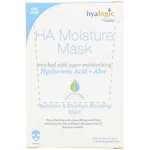 Хиалоджик ЛЛС, HA Moisture Mask, 4 Masks отзывы
