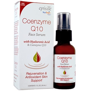 Hyalogic LLC, Episilk, Coenzyme Q10 Face Serum, 1 fl oz (30 ml)