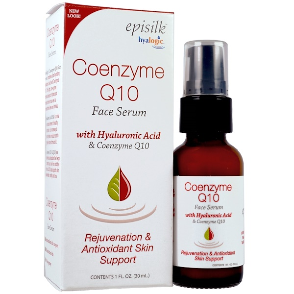 Episilk, Coenzyme Q10 Face Serum, 1 fl oz (30 ml)