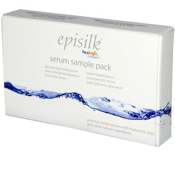 Hyalogic LLC, Episilk, Serum Sample Pack, 0.1 fl oz (3 ml) Each (Discontinued Item)