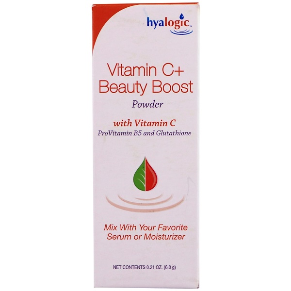 Hyalogic , Vitamin C+ Beauty Boost Powder, 0.21 oz (6.0 g)