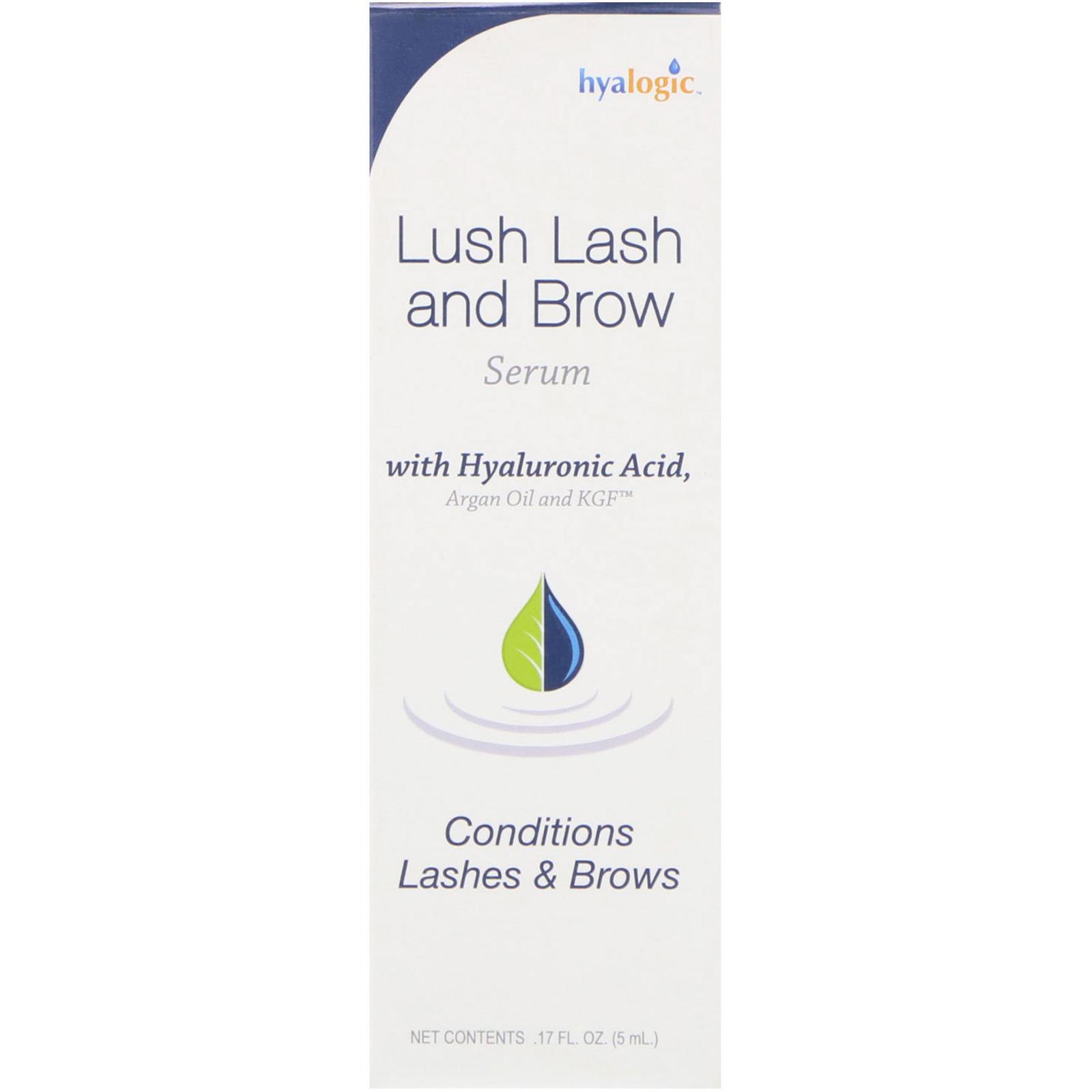 bcd719aba2b Hyalogic LLC Lush Lash and Brow Serum 17 fl oz 5 ml 858259000537 | eBay