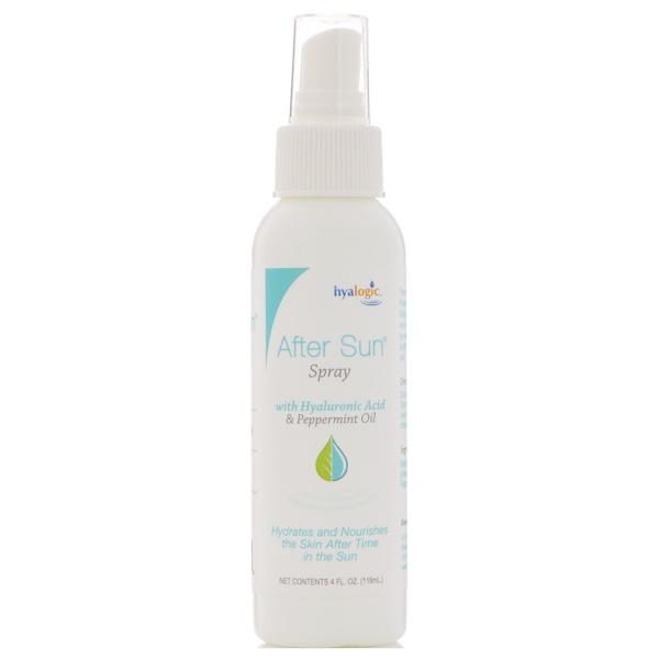 Hyalogic LLC, Spray para después del sol, 4 onzas líquidas (118 ml)