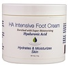 Hyalogic LLC, Crema para pies con HA intensivo, 4 oz (113.4 g)