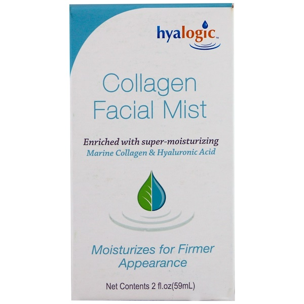 Hyalogic, Collagen Facial Mist, 2 fl oz (59 ml) (Discontinued Item)