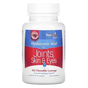 Хиалоджик ЛЛС, Hyaluronic Acid For Joints, Skin & Eyes, Mixed Berry Flavor, 60 HA Chewable Lozenges отзывы
