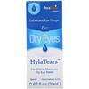 Hyalogic, HylaTears, Lubricant Eye Drops for Dry Eyes, 0.67 fl oz (20 ml)