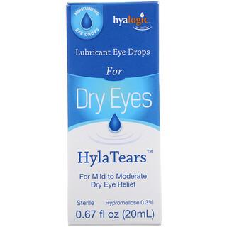 Hyalogic, HylaTears, Tränenergänzungsmittel für trockene Augen, 20 ml (0,67 fl oz)