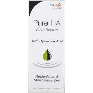 Hyalogic LLC, Pure HA Face Serum, .47 fl oz (13.5 ml)
