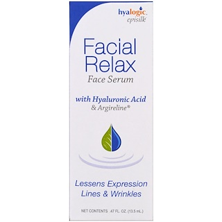 Hyalogic LLC, Facial Relax Face Serum, .47 fl oz (13.5 ml)