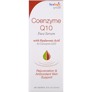 Hyalogic LLC, Coenzyme Q10 Face Serum, .47 fl oz (13.5 ml)