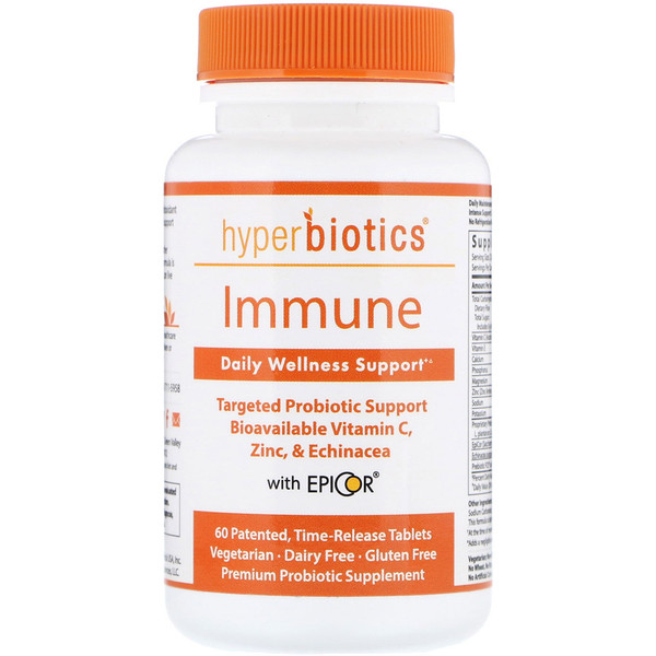 Immune, Daily Wellness Support, 60 Time-Release Tablets